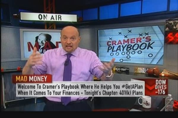 Cramer's Playbook: 401(k) or IRA?