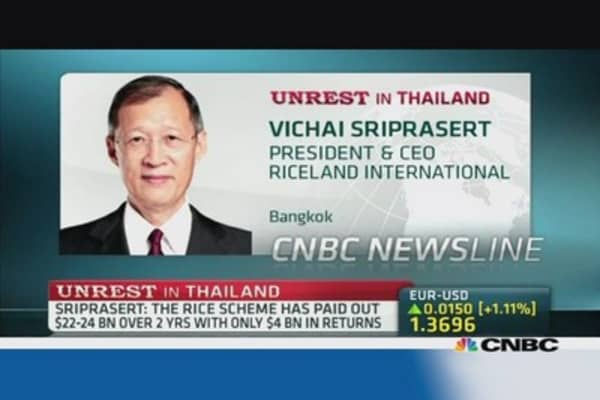 Thaiand's rice industry under pressure: Pro