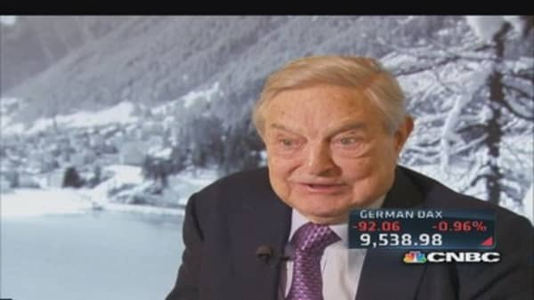George Soros on US-Russia relations