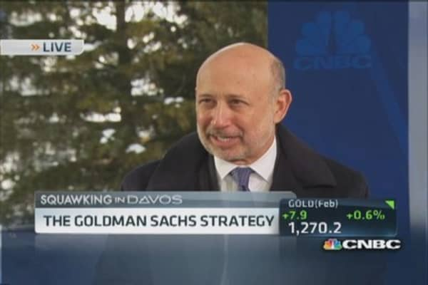 Blankfein 'still optimistic' about economy and market