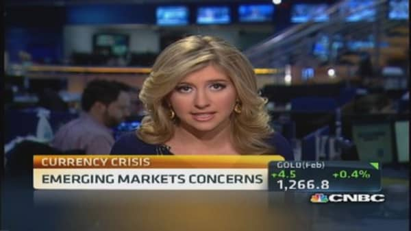 Emerging markets currency concerns