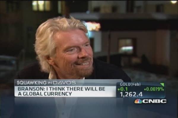 Sir Richard Branson: Bitcoin a 'brilliant first step'