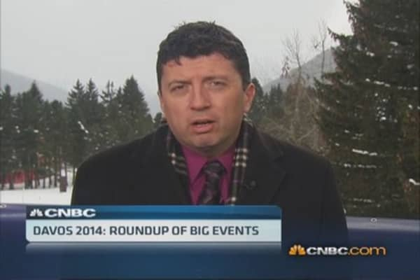 Davos 2014: Roundup of big events