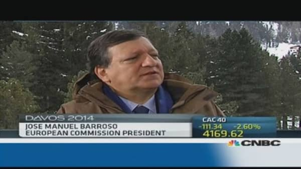 EU 'not out of crisis yet': Barroso
