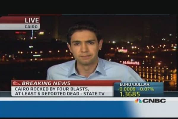 Egypt: Fourth explosion rocks Cairo