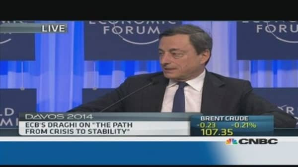 'All countries' in Europe must reform: Draghi