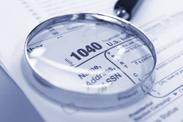 Tax audit 1040