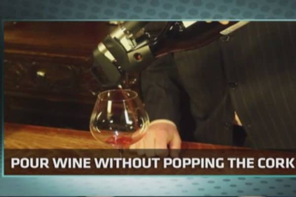 Tech Yeah! Wine system eliminates cork issues