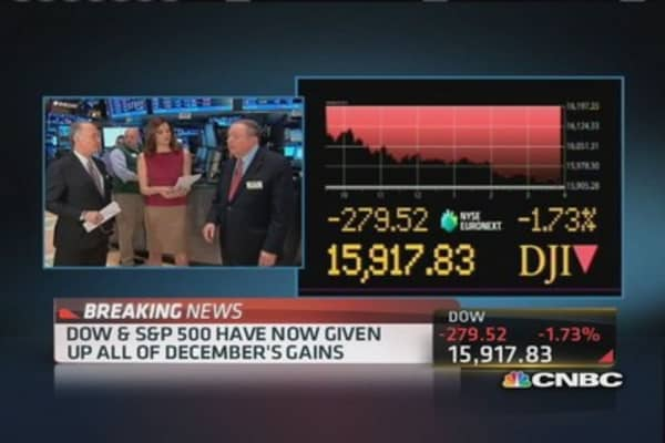 Cashin: Traders reduce risk on Friday's