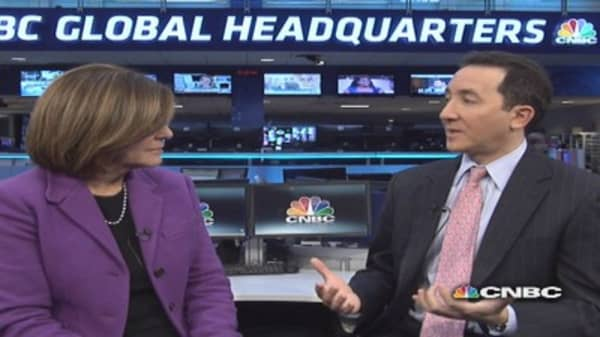 Boockvar: Market was 'drugged up on a high with QE'