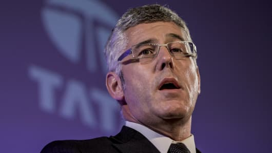 Karl Slym, managing director of Tata Motors Ltd.