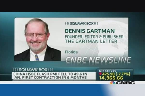 Gartman: China remittances more serious than EM rout