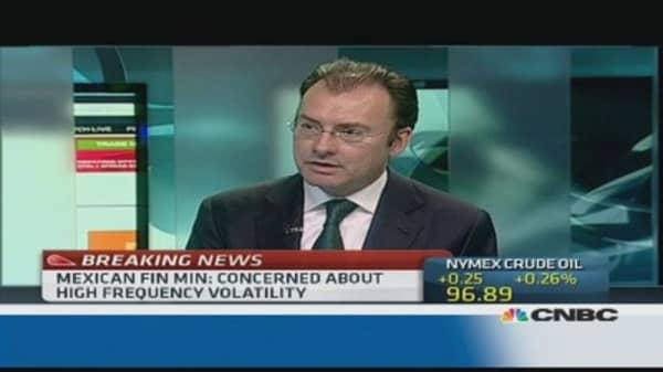 'No need' to intervene for Mexican peso: Fin min