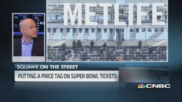 TiqIQ CEO: This Super Bowl is comparably cheap