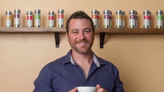Art of Tea CEO Steve Schwartz, based in Los Angeles, says investing in online security is a key part of his tea import and wholesale business.