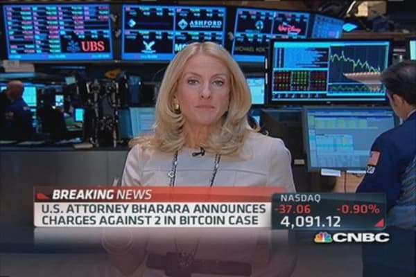 US Attorney Bharara charges 2 in bitcon conspiracy