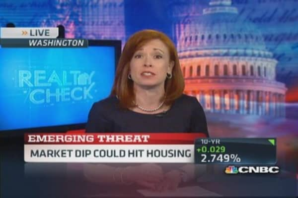 Long-term weakness could hit housing
