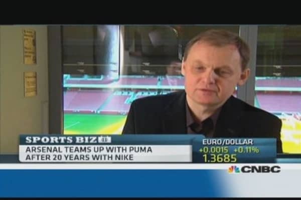 Arsenal is a perfect fit for Puma: CEO
