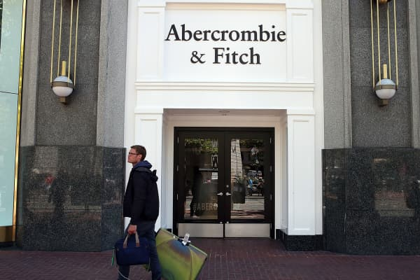 An Abercrombie & Fitch store in San Francisco.
