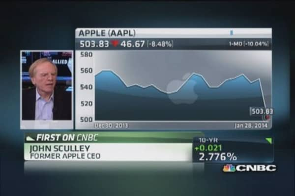 Sculley: China Mobile story yet to unfold