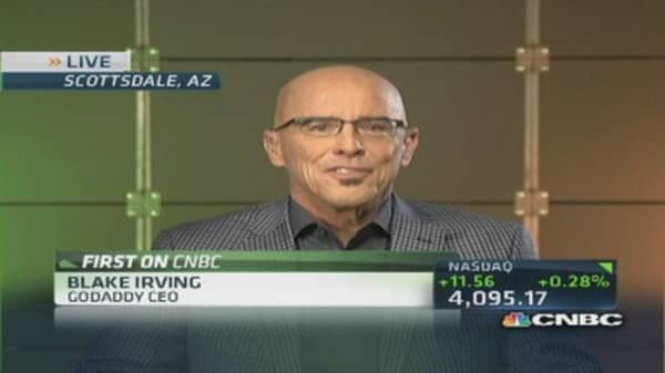 GoDaddy CEO: People watch Super Bowl for commercials