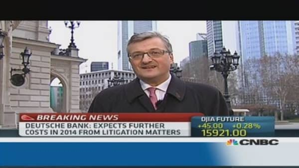 Will 2014 be Deutsche Bank's last 'bad year'?