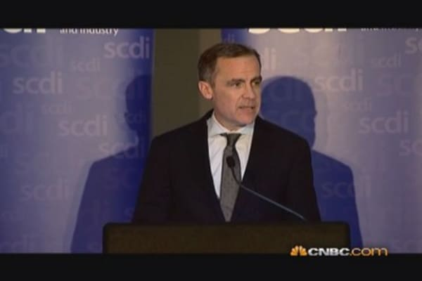 BoE's Carney on Scotland-UK currency union