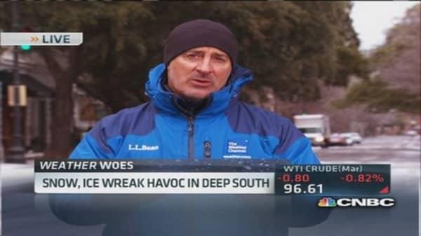 Ice storm brings Atlanta to standstill
