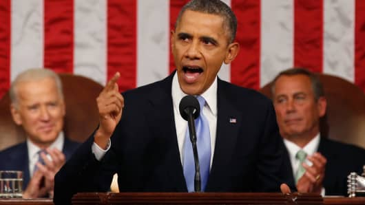 In his State of the Union speech, President Barack Obama said he would ask for the creation of a new retirement fund product.