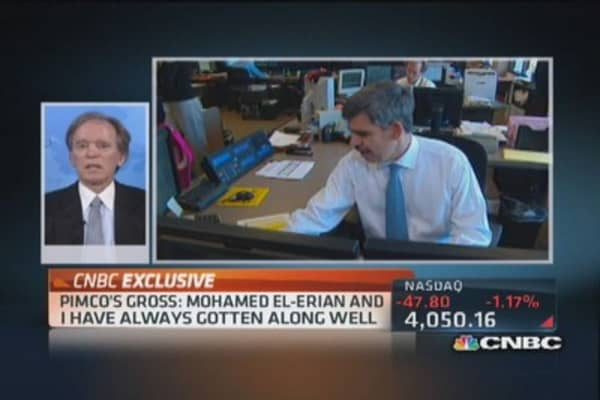 Bill Gross: El-Erian's exit a 'surprise to us'