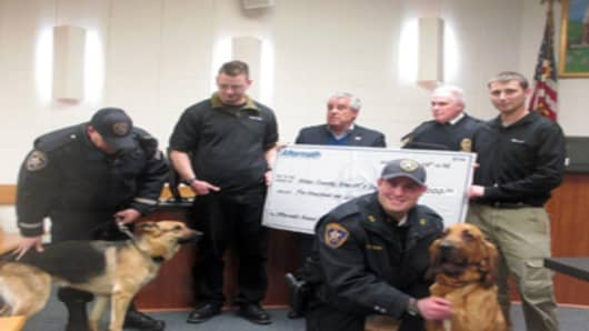k-9 award in NJ