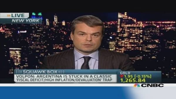 This country is most at risk to Argentina woes