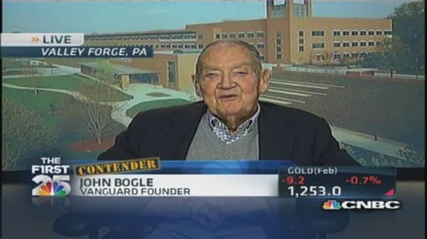 Vanguard's Bogle: I've created a revolution