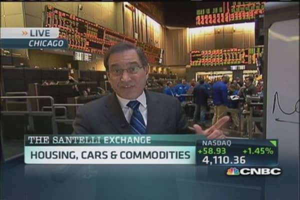 Santelli Exchange: Housing, cars & commodities