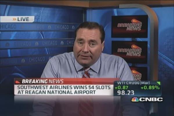 Southwest awarded slots at Reagan National