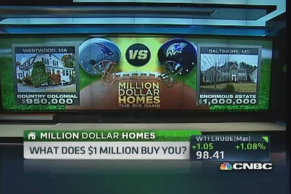 Million Dollar Homes: Patriots vs. Ravens