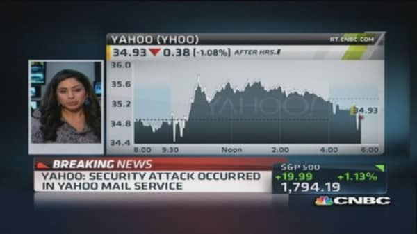 Yahoo releases security update for mail users