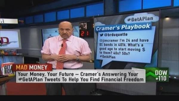 Retirement fund: Stocks vs. bonds