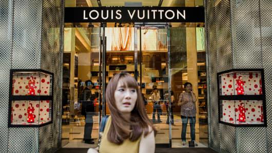 Louis Vuitton shop in Hong Kong