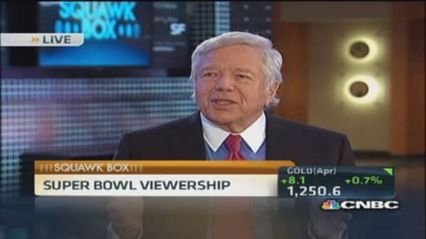 Patriots' Kraft: Love cold weather Super Bowls