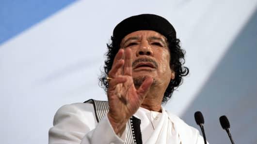 Muammar Qaddafi