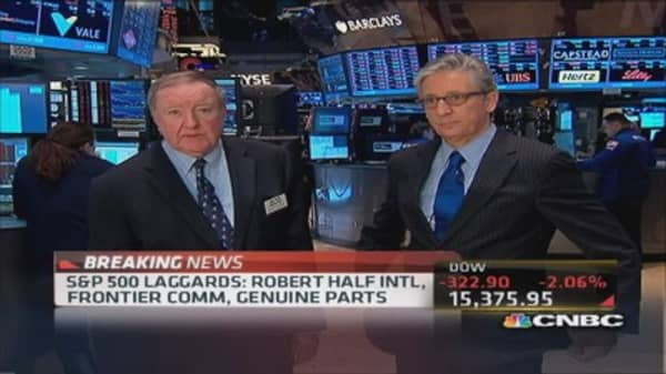 Art Cashin: May be deeper issues