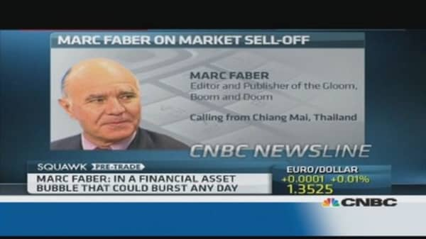 We are in a global credit bubble: Faber
