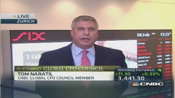 UBS CFO 'neutral' on emerging markets