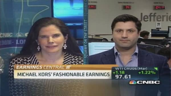 Michael Kors captures luxury need: Pro