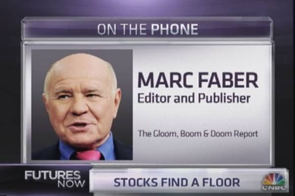 Marc Faber: Hoping for 40 percent correction