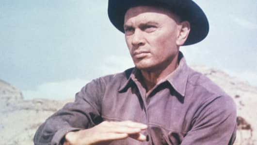 Yul Brynner as Chris Adams in 'The Magnificent Seven'