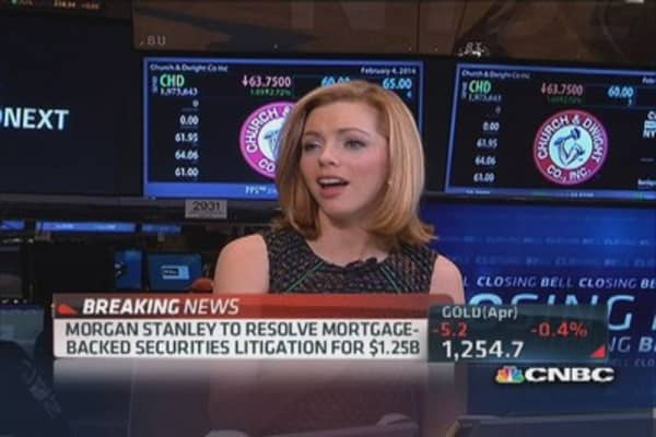 Morgan Stanley To Resolve Mbs Litigation