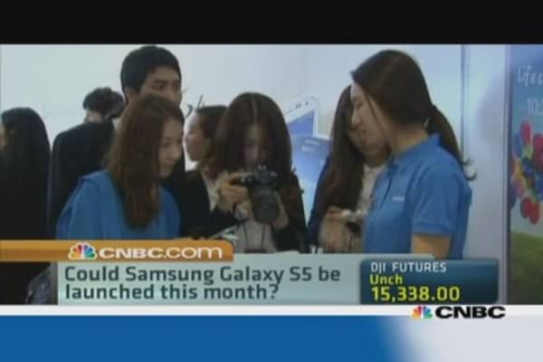 Is a new Samsung phone on the way?