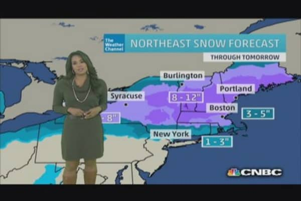 Another brutal winter storm hits Midwest and Northeast